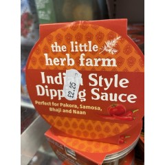 Indian style dipping sauce