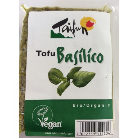 Organic tofu with basil 200g