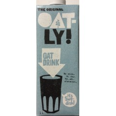 Oat-Ly Oat Milk 1 ltr