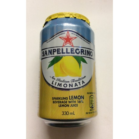 Sanpellegrino lemon 330ml