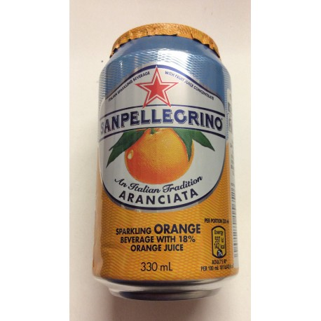 Sanpelegrino orange 330ml