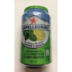 Sanpellegrino lime& mint 330ml