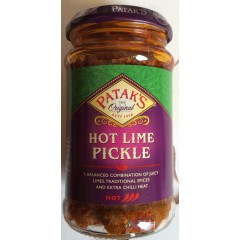 Patak's Hot Lime Pickle 283gm