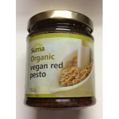 Organic vegan red pesto 160 g