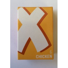 6 chicken oxo 35g