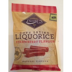Liquorice Halva Strawberry Flavour