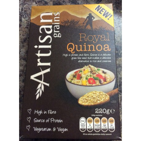 Artisan royal quinoa 220g
