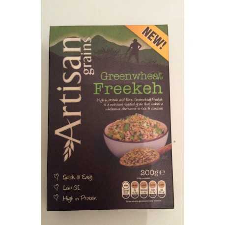 Artisan green wheat freekeh 200g