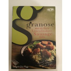 Granose Meat Free Lincolnshire Sausage Mix