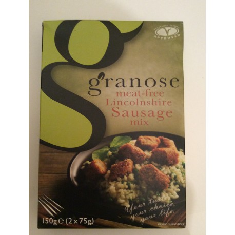 Granose meat free Lincolnshire sausage mix 1.50g