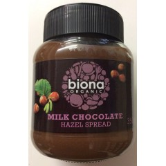 Organic Milk Chocolate Hazelnut Spread