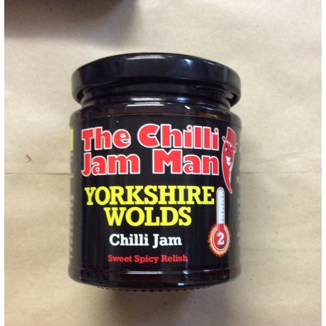 Yorkshire wolds chilli jam