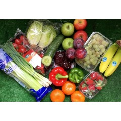 Fruit and salad box