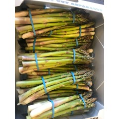 York grown asparagus